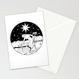 THE STAR - Waite tarot inspired Stationery Cards