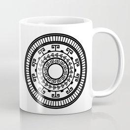 Ancient Greek Pottery Pattern Coffee Mug