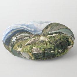 Mirror Lake Floor Pillow