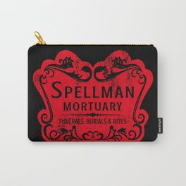 Spellman Mortuary Carry-All Pouch
