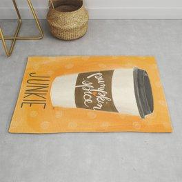 Pumpkin Spice Junkie Rug