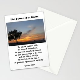 Power of Holiness Stationery Cards