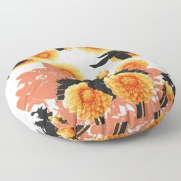 DAHLIA SPIN Floor Pillow