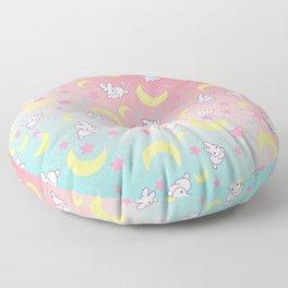 Moon Pattern Floor Pillow