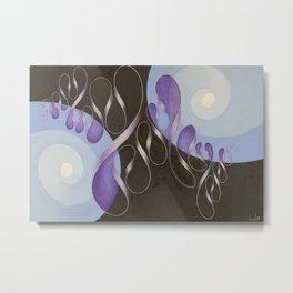 Spirals & Swirls, No. 1 Metal Print