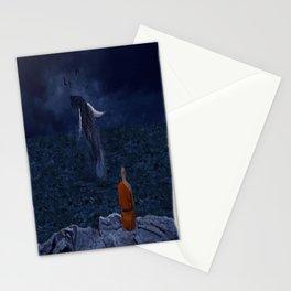 La preciosa mente de un monje - The beautiful mind of a monk Stationery Cards