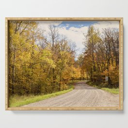 Country Road 4 Serving Tray
