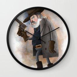 Rooster Cogburn Wall Clock