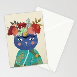 Frida Cat Stationery Cards