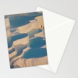 pamukkale winter frozen Stationery Cards