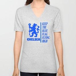 Slogan: Chelsea Unisex V-Neck
