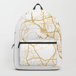 SAN DIEGO CALIFORNIA CITY STREET MAP ART Backpack
