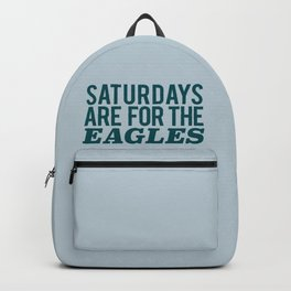 Saturdays are for the Eagles Backpack