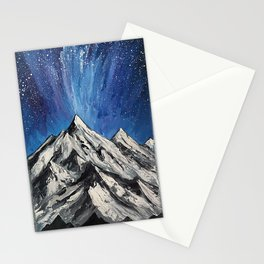 Painted Mountains Stationery Cards