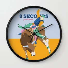 8 SECONDS Wall Clock