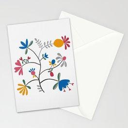 Kurbits – Flower – Bluebell – Scandinavian Folk Art Stationery Cards