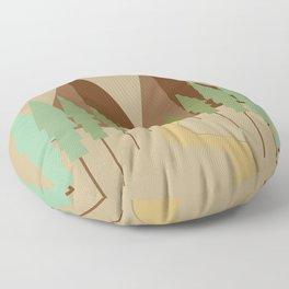 Twin Peaks Floor Pillow