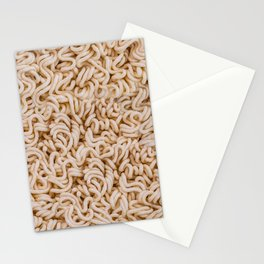 Instant Ramen Noodle II Photo Pattern Stationery Cards