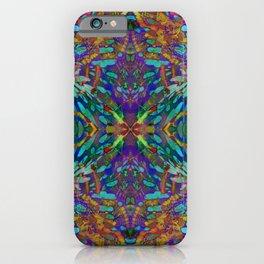 Buddha 5 geometry III iPhone Case