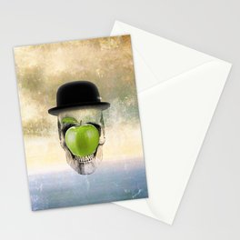 Magritte Skull Stationery Cards