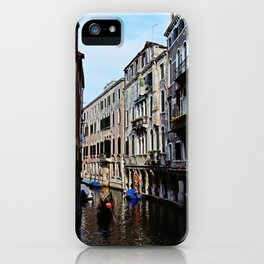 Venice the city of Canals iPhone Case