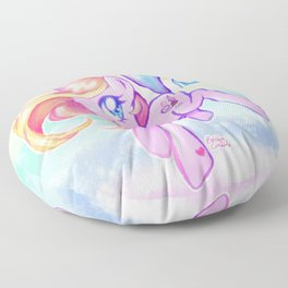 Cute Kawaii Toola Roola My Little Pony Fan Art Floor Pillow