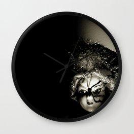 Doll On Film Wall Clock