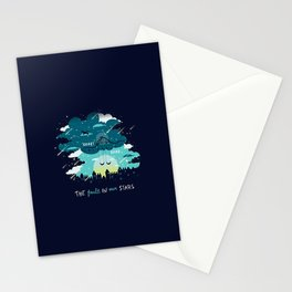 Stars and Constellations Stationery Cards