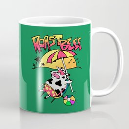 Roast Beef Dustin Cow On Sun Coffee Mug
