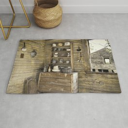 Old southern kitchen Rug