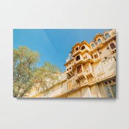 City Palace in Udaipur Metal Print