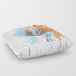 My Hero Academia Minimalist (Todoroki) Floor Pillow