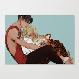 Cuddle Canvas Print