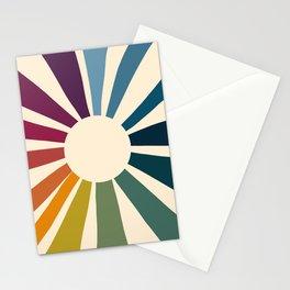 Retro Blossom Stationery Cards