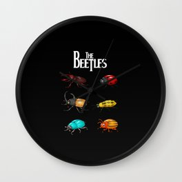 The Beetles, a parody with one of the biggest rock bands of all time. Wall Clock