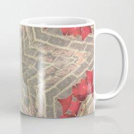 Red Brick Star Coffee Mug