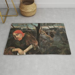 Christ and the Garden of Olives Rug