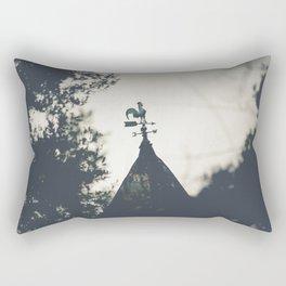 Farm Weathervane Photograph Rectangular Pillow