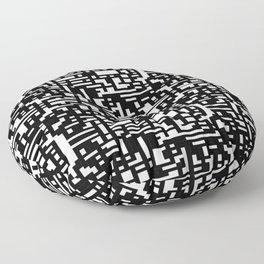 Maze Merge Floor Pillow