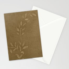 Sepia Vine Vintage Floral - Rustic - Hygge - Modern - Vintage - Farmhouse - Corbin Henry Stationery Cards