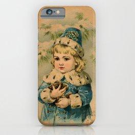 Russian Girl Maud Humphrey iPhone Case