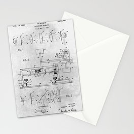 Microscopy apparatus Stationery Cards