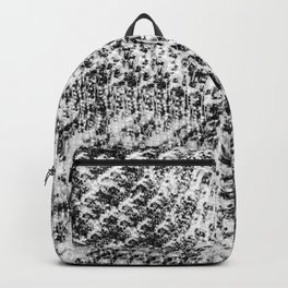Griswold Christmas Tree - Black And White Backpack