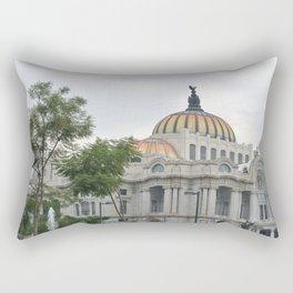 palacio de bellas artes Rectangular Pillow