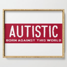 Autism Serving Tray