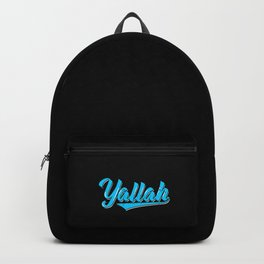 Yallah Art Work | Arabic Habibis Arabia Gifts Backpack
