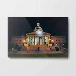 The South Carolina Statehouse Metal Print