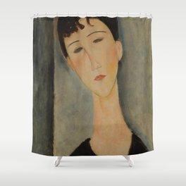 Amedeo Modigliani - Figura de mujer Shower Curtain