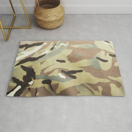 CAMOUFLAGE. British Armed Forces. Latest Multi Terrain Pattern. Rug