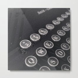 It's All About The Numbers Metal Print